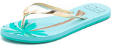 Kate Spade I Need A Vacation Flip Flops