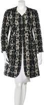 Paul Smith Knee-Length Tweed Coat