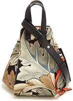 Loewe X William Morris Hammock small canvas tote