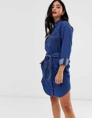 New Look denim shirt dress