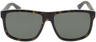 Gucci Brown Havana Sunglasses