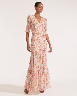 Veronica Beard Mick Floral Maxi Dress