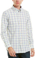 James Tattersall Seersucker Woven Shirt