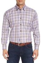 Robert Talbott Men's 'Anderson' Regular Fit Check Cotton Sport Shirt
