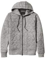 Banana Republic Quilted Brushed Thermal Hoodie