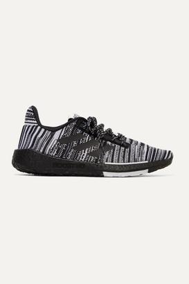 adidas Missoni Pulseboost Crochet-knit Sneakers - Black