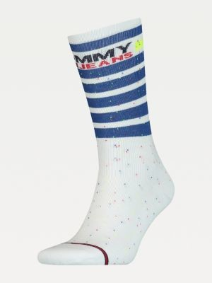 Tommy Hilfiger Stripe Long Stretch Socks