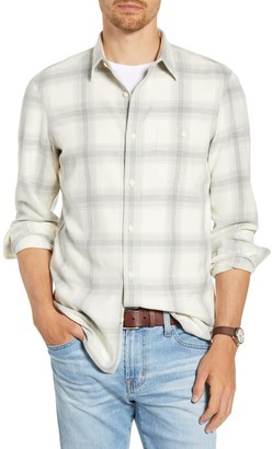 1901 Trim Fit Plaid Twill Button-Up Utility Shirt