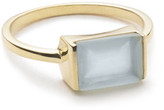 Margaret Elizabeth - Channel Set Ring Aqua Chalcedony