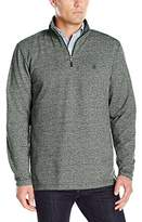 Izod Men's Saltwater Marled 1/4 Zip Fleece