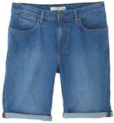 MANGO Men's Medium wash denim bermuda shorts