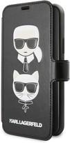 Karl Lagerfeld Paris Kitty Booktype iPhone 11 Case