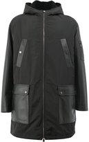 Drome fur-lined zipped coat
