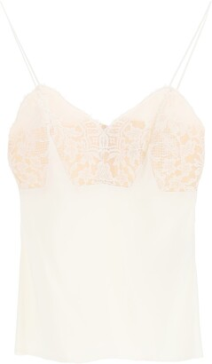 Alexander McQueen Lace Camisole Top