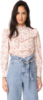 Rebecca Taylor Long Sleeve Brittany Top