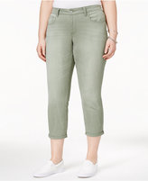 Jessica Simpson Trendy Plus Size Cropped Skinny Jeans