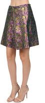 3.1 Phillip Lim Metallic Mini Skirt in Multi