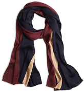 Brooks Brothers Color-Block Stripe Scarf