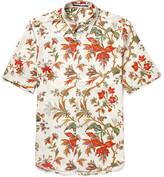 McQ Printed Cotton-Blend Twill Shirt