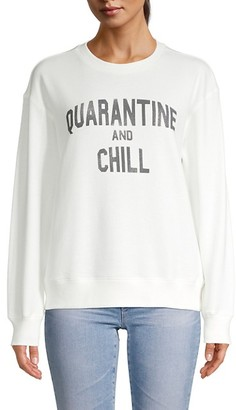 David Lerner Graphic Cotton Sweatshirt