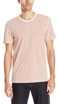 7 For All Mankind Men's Ringer Short Sleeve Pocket T-Shirt