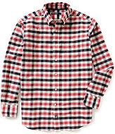 Daniel Cremieux Long-Sleeve Exploded Check Oxford Woven Shirt