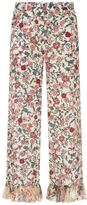 See by Chloe Floral Print Wide Trousers