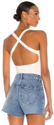 LnA Pearl Rib Bodysuit