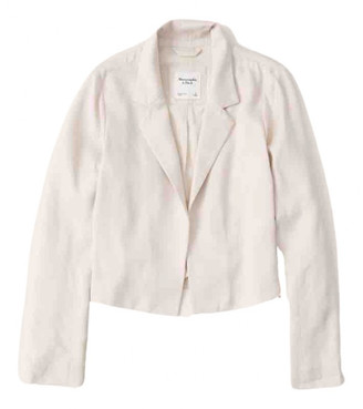 Abercrombie & Fitch Beige Viscose Coats