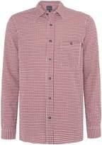 Perry Ellis Men's Cotton Gingham Long-Sleeve Shirt