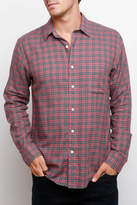 Faherty Red Cabin Ventura Plaid Button Down