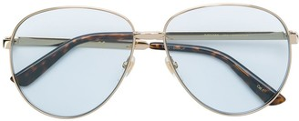 Gucci Aviator Metallic Sunglasses