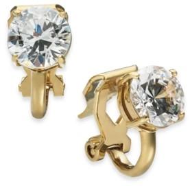 Eliot Danori Cubic Zirconia Clip-On Stud Earrings, Created for Macy's