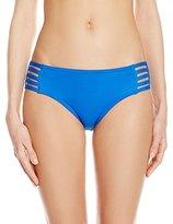 Jag Women's Shirbori Retro Side Strappy Bikini Bottom