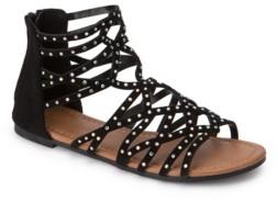 OLIVIA MILLER Kissimmee Rhinestone Studded Sandals Women's Shoes