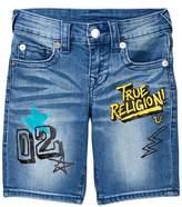 True Religion Slim Single End Shorts (Little Boys)