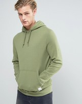 Converse Essentials Luxe Pullover Hoodie In Green 10000656-A09
