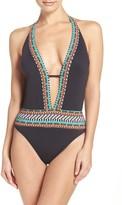 Nanette Lepore Women's Goddess One-Piece Swimsuit