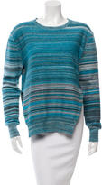 Baja East Patterned Crew Neck Sweater w/ Tags