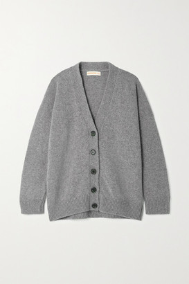 &Daughter Net Sustain Wool Cardigan - Gray