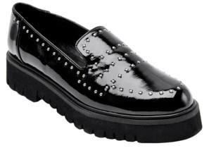JANE AND THE SHOE Women's Elena Lug Sole Platform Loafers Women's Shoes