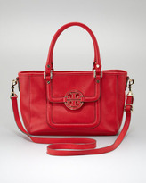 Tory Burch Amanda Mini Satchel Bag, Red