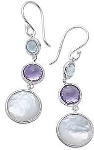 Ippolita Sterling Silver Lollitini Multi-Gemstone Drop Earrings