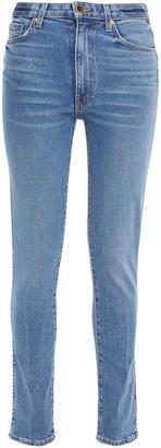 KHAITE Kassandra Mid-rise Slim-leg Jeans