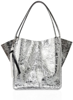 Proenza Schouler Extra-Large Metallic Leather Tote