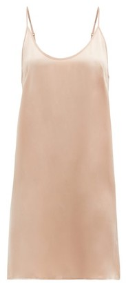 Araks Pearl Silk-charmeuse Slip Dress - Nude