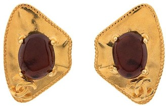 Chanel Pre Owned Clip-On Earrings