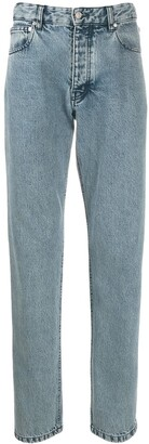Ami Tapered Stone Wash Jeans