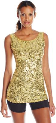 Gia Mia Dance Women's Sequin Tunic Dress Jazz Hip Hop Costume Performance Team