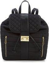 Gianni Bini Utility Quilted Nylon Backpack